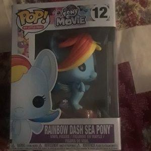 Rainbow dash sea pony